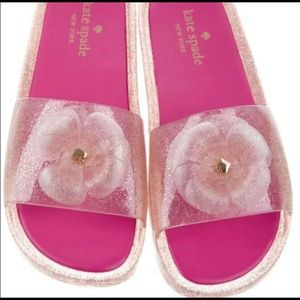 Kate Spade Jelly slippers